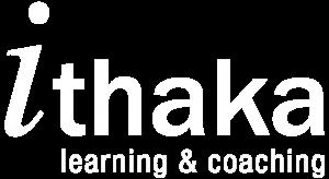 Logo Ithaka learning & coaching 1798x983px white tp